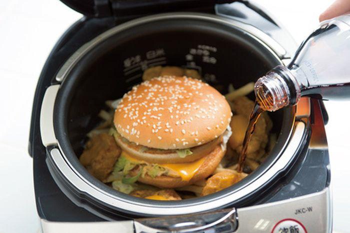 Takikomi Gohan Made with McDonald's Food (5 pics)
