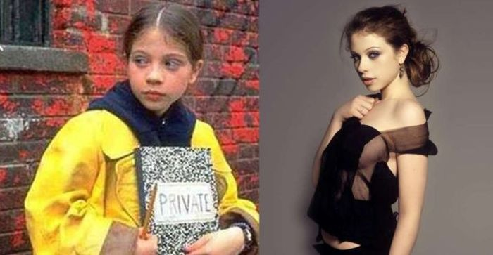 45 fotos de chicas famosas de la niñez antes y ahora