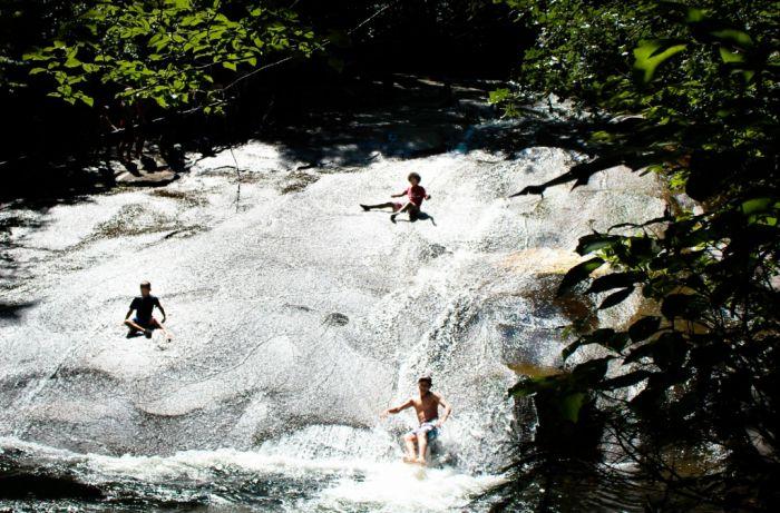 Sliding Rock (7 pics)