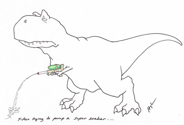 T-Rex Trying... Part 2 (20 pics)