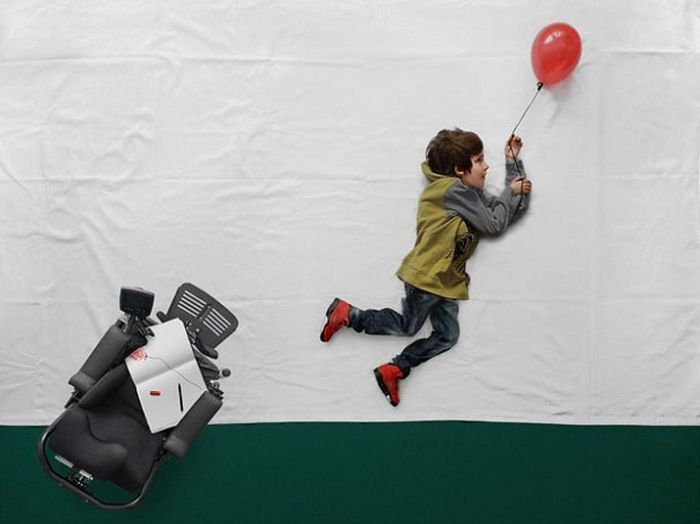 Little Boy's Dreams Come True (8 pics)