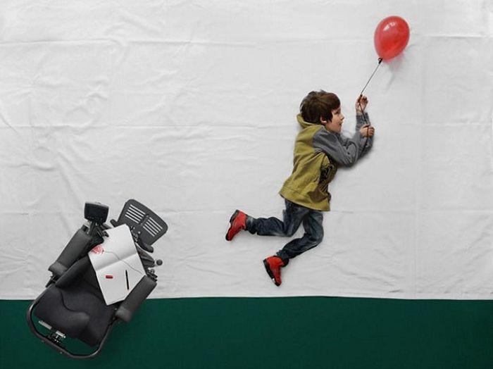Little Boy's Dreams Come True (8 pics)