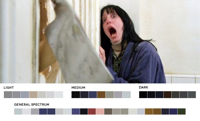 Color Palettes of the Movies (40 pics)