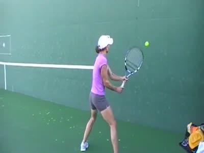 Hard Tennis Training