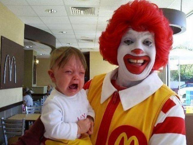 The First Ronald McDonald (2 pics)