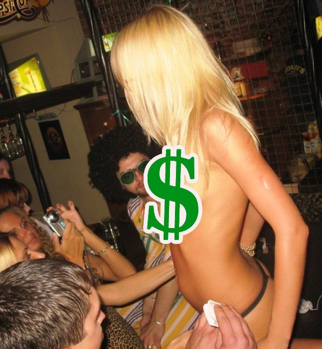 Striptease, Ballon Animal Twister or Sysadmin. What Pays More? (3 pics)