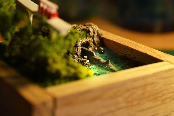 mini submarino