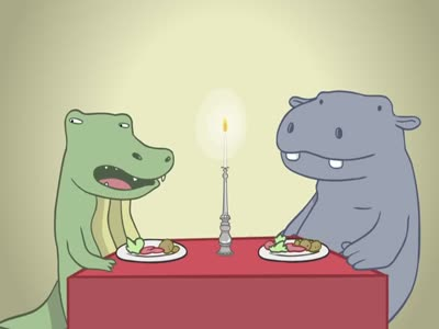How Humans Look Like When Eating Dinner