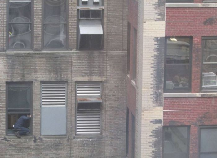 Window Cleaner in Manhattan (6 pics + video)