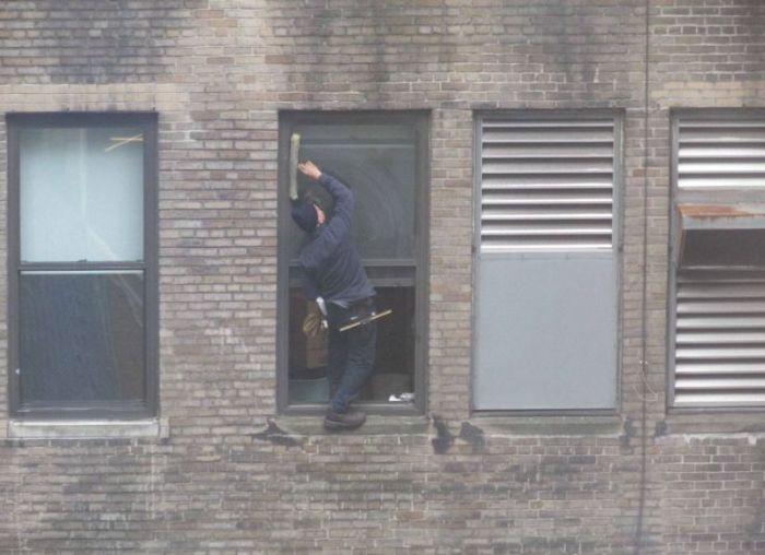 Window Cleaner in Manhattan (6 pics + video)