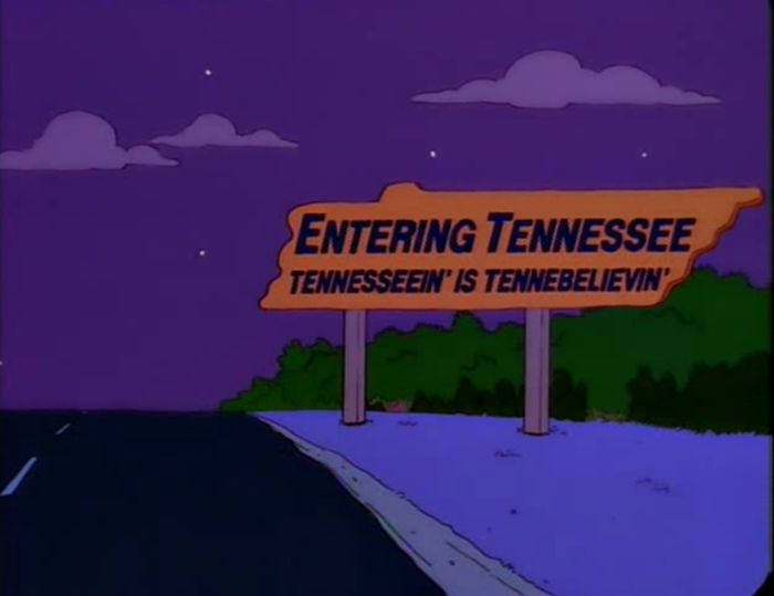 Funny Signs From The Simpsons. Part 7 (58 pics)