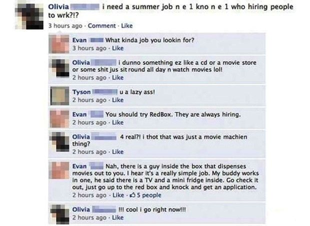 Dumb Things on Facebook (35 pics)