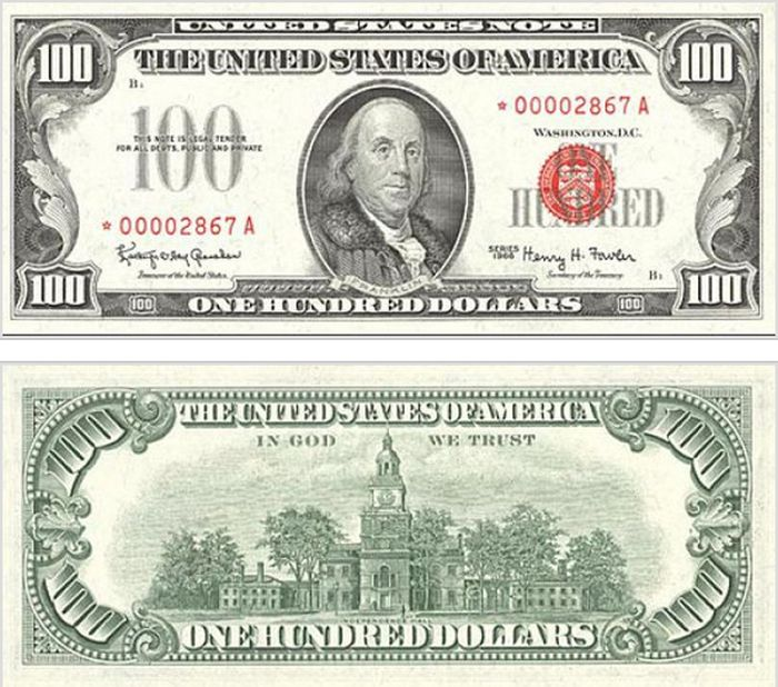 The Evolution Of The $100 Bill (15 pics)