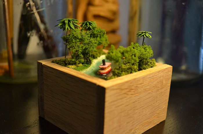 Tiny Jungle Cruise Model (23 pics)