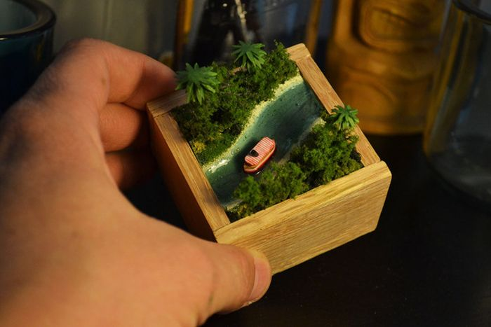 Tiny Jungle Cruise Model (23 pics)