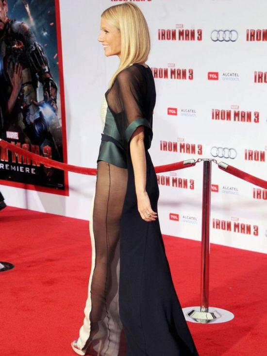 Gwyneth Paltrow's Sexy Dress (12 pics)