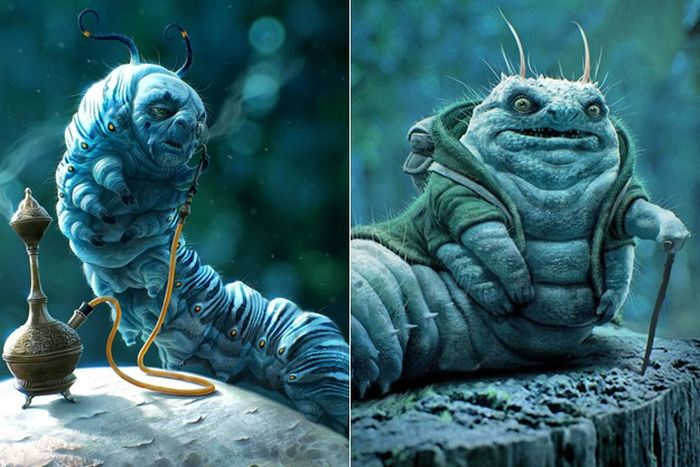 Early Movie Concept Art. (33 pics)