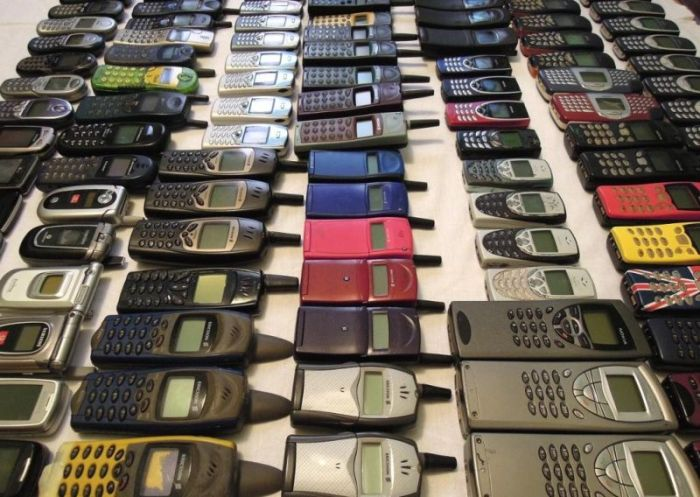Vintage Cell Phone Сollection (7 pics)