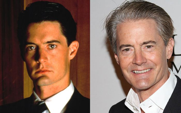 """""""Twin Peaks"""" Stars Then, Now And Before the Seires (38 pics)"""