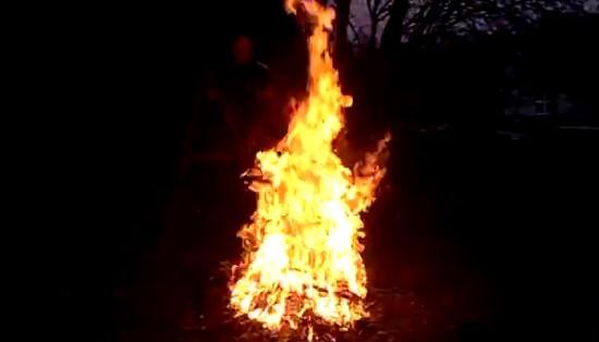Jump Over Bonfire Gone Wrong