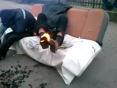 Heating Foot Gone Wrong