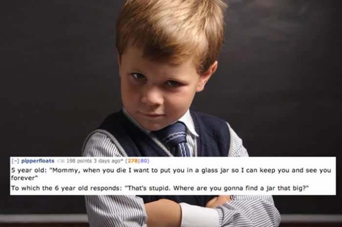 The Creepiest Things the Children Have Ever Said To the Parents (13 pics)