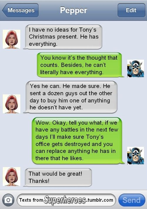 Texts from Superheroes (40 pics)