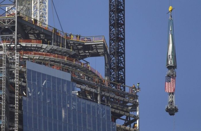 One World Trade Center Is Almost Completed (13 pics)