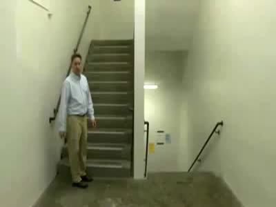 Awesome Ladder Illusion Prank