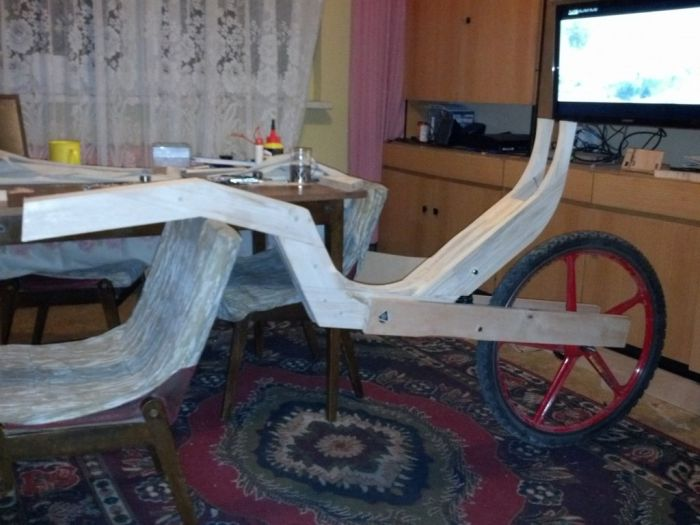 Bicycle Built Out Of Wood (54 pics)