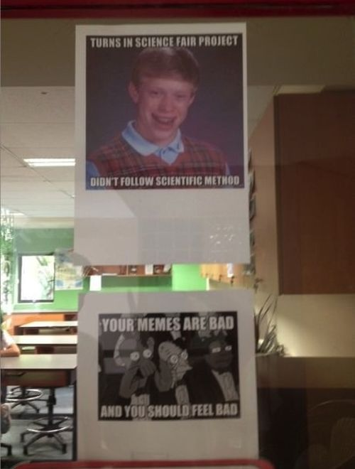Unfortunate Uses Of Memes In Real Life (23 pics)