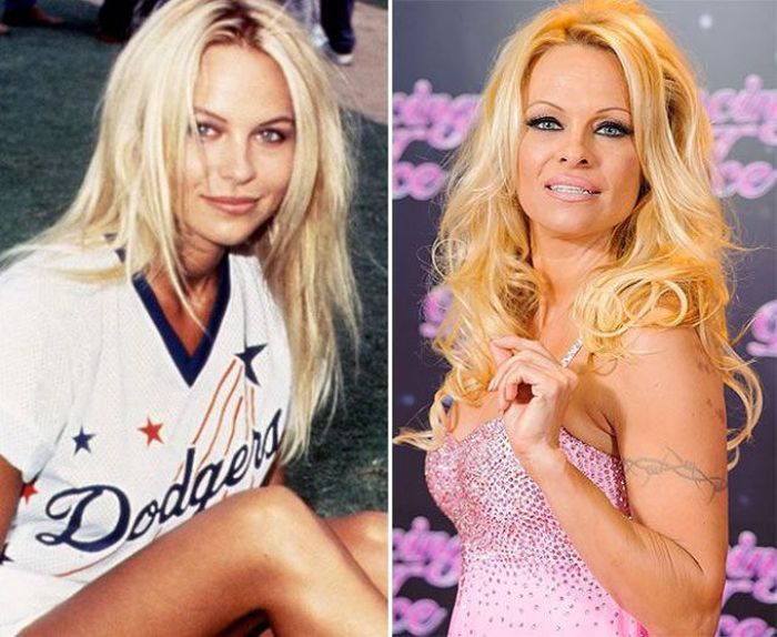 Celebrities Then and Now (14 pics)