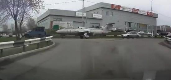 Jet Plane Transporting