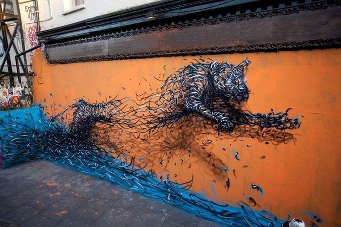 Street Art From Around the World (50 pics)
