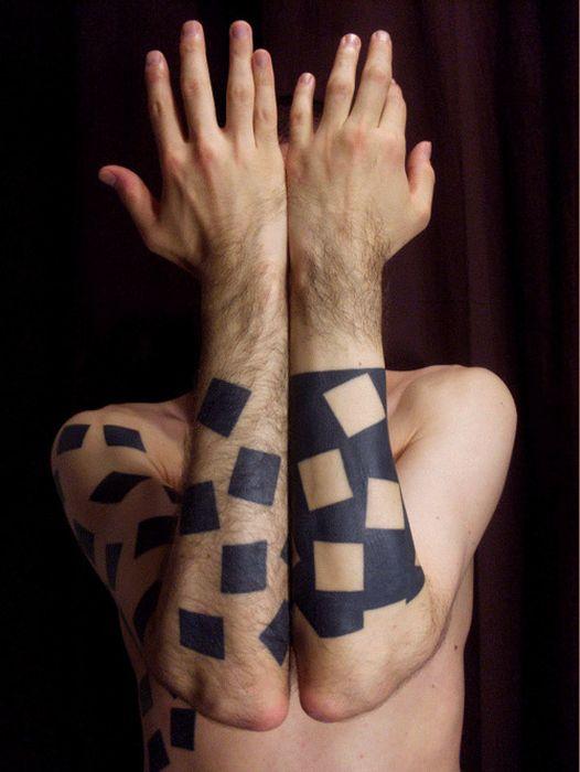 Geometric Tattoos (73 pics)