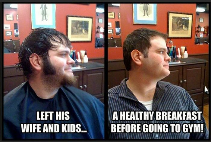 How a Haircut Can Change You (9 pics)