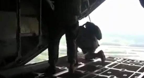Unexpected Reserve Parachute Deployment