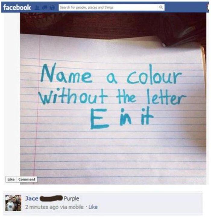 Dumb Stuff on Facebook (21 pics)