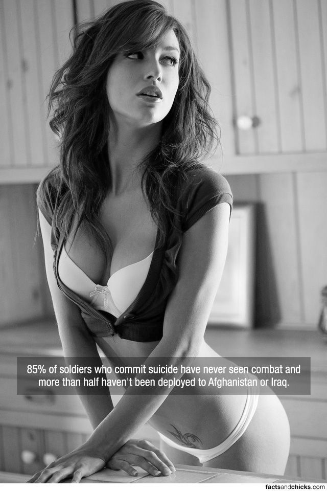 Hot Girls with Random Facts. Part 2 (70 pics)