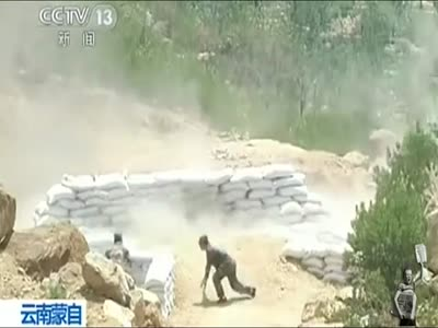 Girl Throwing Grenade Gone Wrong