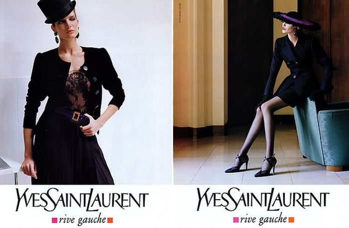 The Evolution of Yves Saint Laurent (43 pics)