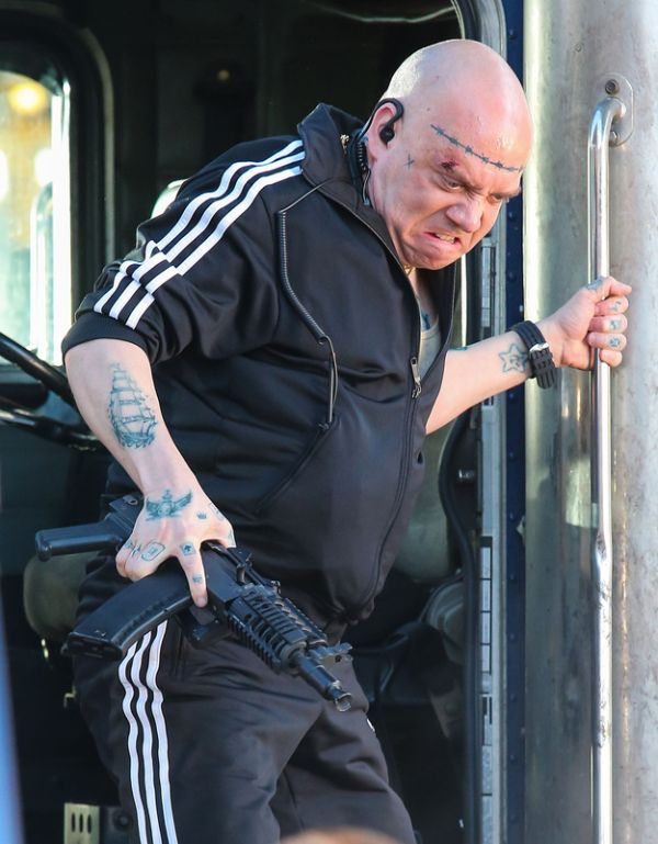 Paul Giamatti on the set of The Amazing Spider-Man 2 (4 pics)