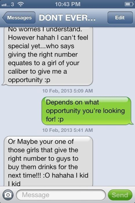 Why Girls Give Wrong Numbers (12 pics)
