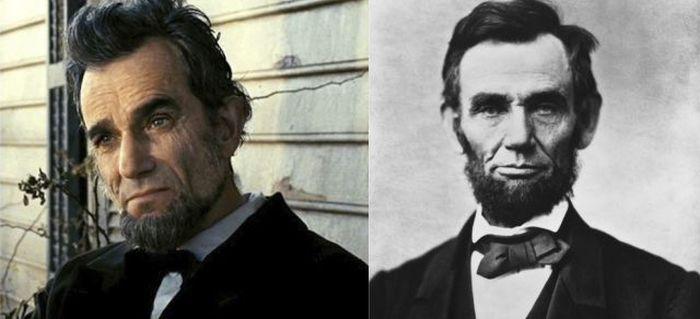 Biopic Film Actors Alongside Their Real-Life Equals (14 pics)