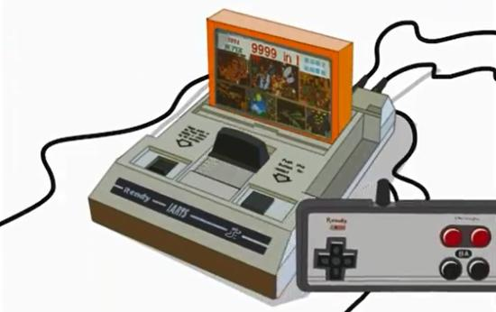 Nostalgic 8 Bit Video Games
