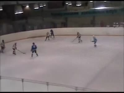 Hockey Fight During The Match