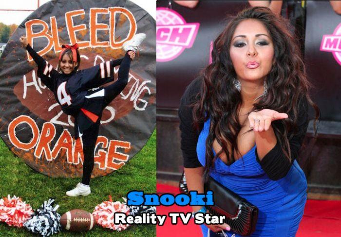 Celebrities Who Were Cheerleaders (40 pics)
