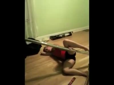 Pole Dance Gone Wrong