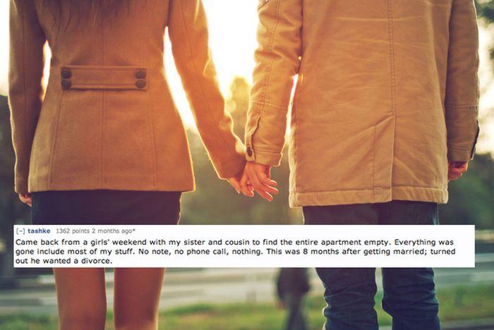 Break-Up Stories (22 pics)