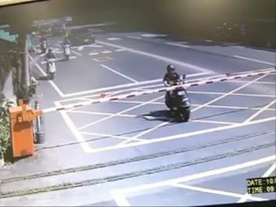 Scooter Driver Fail